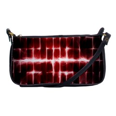 Electric Lines Pattern Shoulder Clutch Bags by Simbadda