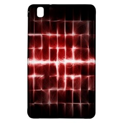 Electric Lines Pattern Samsung Galaxy Tab Pro 8 4 Hardshell Case by Simbadda