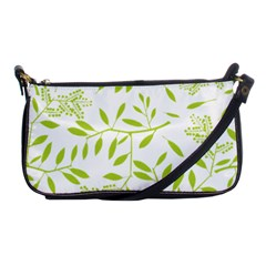 Leaves Pattern Seamless Shoulder Clutch Bags by Simbadda