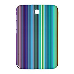 Color Stripes Samsung Galaxy Note 8 0 N5100 Hardshell Case  by Simbadda