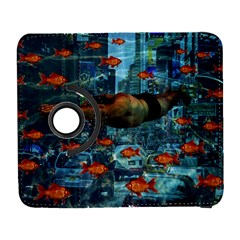 Urban Swimmers   Galaxy S3 (flip/folio) by Valentinaart