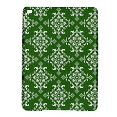 St Patrick S Day Damask Vintage Green Background Pattern Ipad Air 2 Hardshell Cases by Simbadda