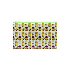Hamburger And Fries Cosmetic Bag (xs) by Simbadda