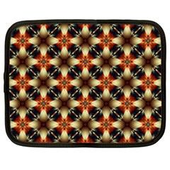 Kaleidoscope Image Background Netbook Case (XXL)  by Simbadda