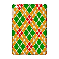 Colorful Color Pattern Diamonds Apple Ipad Mini Hardshell Case (compatible With Smart Cover) by Simbadda