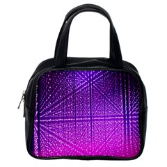 Pattern Light Color Structure Classic Handbags (one Side) by Simbadda