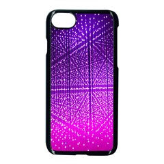 Pattern Light Color Structure Apple Iphone 7 Seamless Case (black) by Simbadda