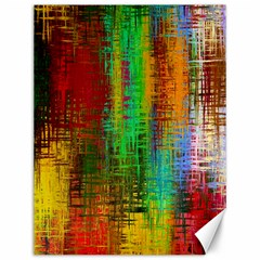 Color Abstract Background Textures Canvas 12  X 16   by Simbadda