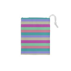 Backgrounds Pattern Lines Wall Drawstring Pouches (XS)  by Simbadda
