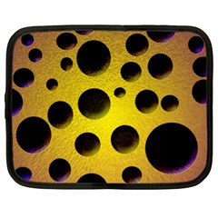 Background Design Random Balls Netbook Case (xl)  by Simbadda