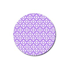 The Background Background Design Rubber Round Coaster (4 Pack)  by Onesevenart