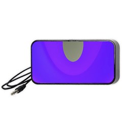 Ceiling Color Magenta Blue Lights Gray Green Purple Oculus Main Moon Light Night Wave Portable Speaker (black)