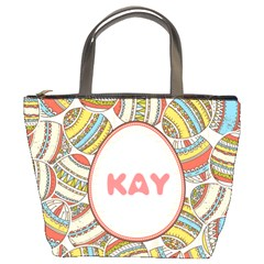 Easter Happy Egg Bucket Handbag