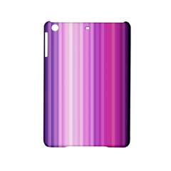 Pink Vertical Color Rainbow Purple Red Pink Line Ipad Mini 2 Hardshell Cases by Alisyart