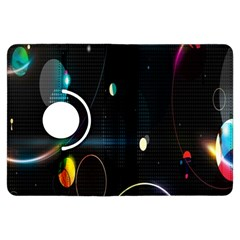 Glare Light Luster Circles Shapes Kindle Fire HDX Flip 360 Case by Simbadda