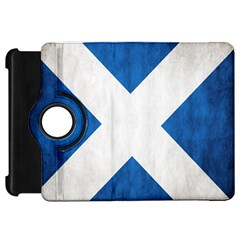 Scotland Flag Surface Texture Color Symbolism Kindle Fire Hd 7  by Simbadda