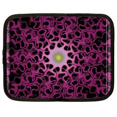 Cool Fractal Netbook Case (xl)  by Simbadda