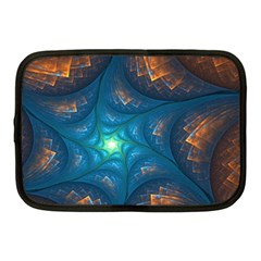 Fractal Star Netbook Case (medium)  by Simbadda