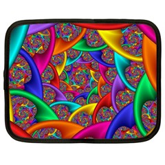 Color Spiral Netbook Case (xl)  by Simbadda