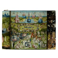 Hieronymus Bosch Garden Of Earthly Delights Cosmetic Bag (xxl)  by MasterpiecesOfArt