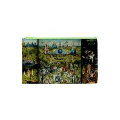 Hieronymus Bosch Garden Of Earthly Delights Cosmetic Bag (xs) by MasterpiecesOfArt