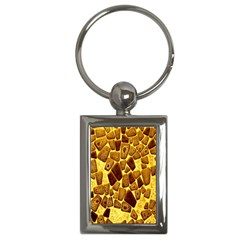 Yellow Cast Background Key Chains (rectangle)  by Amaryn4rt