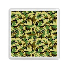 Camo Woodland Memory Card Reader (square)  by sifis