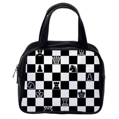 Chess Classic Handbags (One Side) by Valentinaart