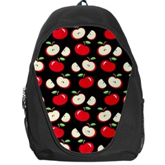 Apple Pattern Backpack Bag by Valentinaart