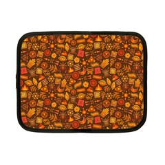 Pattern Background Ethnic Tribal Netbook Case (Small)  by Simbadda