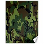 Military Camouflage Pattern Canvas 18  x 24   24 x18 Canvas - 1