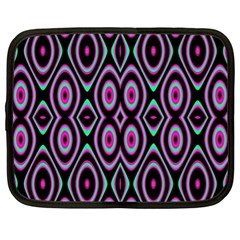 Colorful Seamless Pattern Vibrant Pattern Netbook Case (xl)  by Simbadda