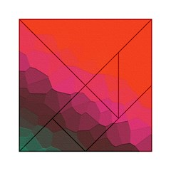 Abstract Elegant Background Pattern Acrylic Tangram Puzzle (6  X 6 ) by Simbadda