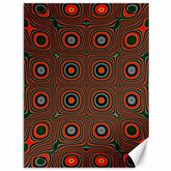 Vibrant Pattern Seamless Colorful Canvas 36  X 48   by Simbadda