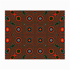 Vibrant Pattern Seamless Colorful Small Glasses Cloth (2 Side) by Simbadda