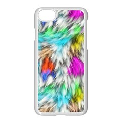 Fur Fabric Apple Iphone 7 Seamless Case (white) by Simbadda