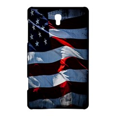 Grunge American Flag Background Samsung Galaxy Tab S (8 4 ) Hardshell Case  by Simbadda