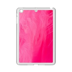 Very Pink Feather Ipad Mini 2 Enamel Coated Cases by Simbadda