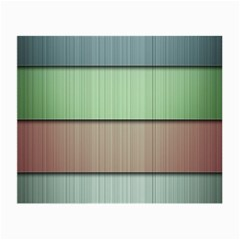 Lines Stripes Texture Colorful Small Glasses Cloth (2 Side) by Simbadda