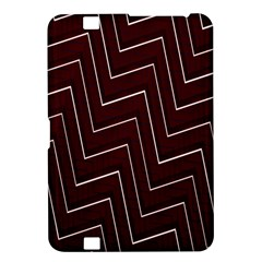 Lines Pattern Square Blocky Kindle Fire Hd 8 9  by Simbadda