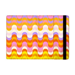 Dna Early Childhood Wave Chevron Rainbow Color Apple Ipad Mini Flip Case by Alisyart