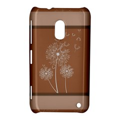 Dandelion Frame Card Template For Scrapbooking Nokia Lumia 620 by Simbadda