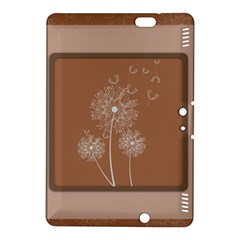 Dandelion Frame Card Template For Scrapbooking Kindle Fire HDX 8.9  Hardshell Case by Simbadda