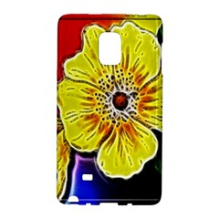 Beautiful Fractal Flower In 3d Glass Frame Galaxy Note Edge by Simbadda