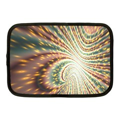 Vortex Glow Abstract Background Netbook Case (medium)  by Simbadda