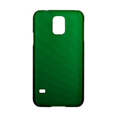 Green Beach Fractal Backdrop Background Samsung Galaxy S5 Hardshell Case  by Simbadda