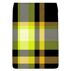 Tartan Pattern Background Fabric Design Flap Covers (S)  by Simbadda