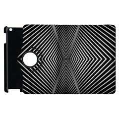 Abstract Of Shutter Lines Apple iPad 2 Flip 360 Case by Simbadda