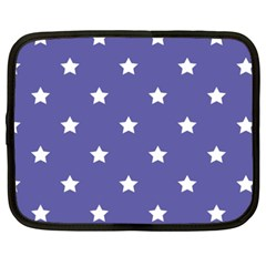 Stars pattern Netbook Case (XXL)  by Valentinaart