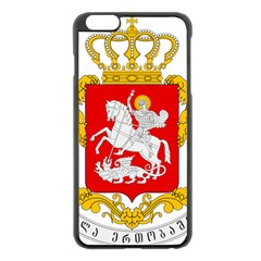 Greater Coat Of Arms Of Georgia  Apple Iphone 6 Plus/6s Plus Black Enamel Case by abbeyz71